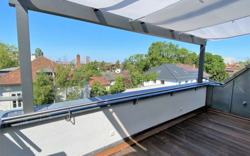 Über den Dächern von Darmstadt