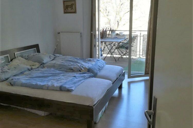 Schlafzimmer & Balkon